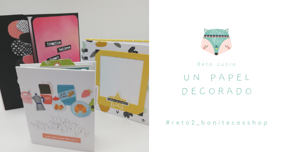 "Reto de Junio: un ""total"" de un papel decorado"